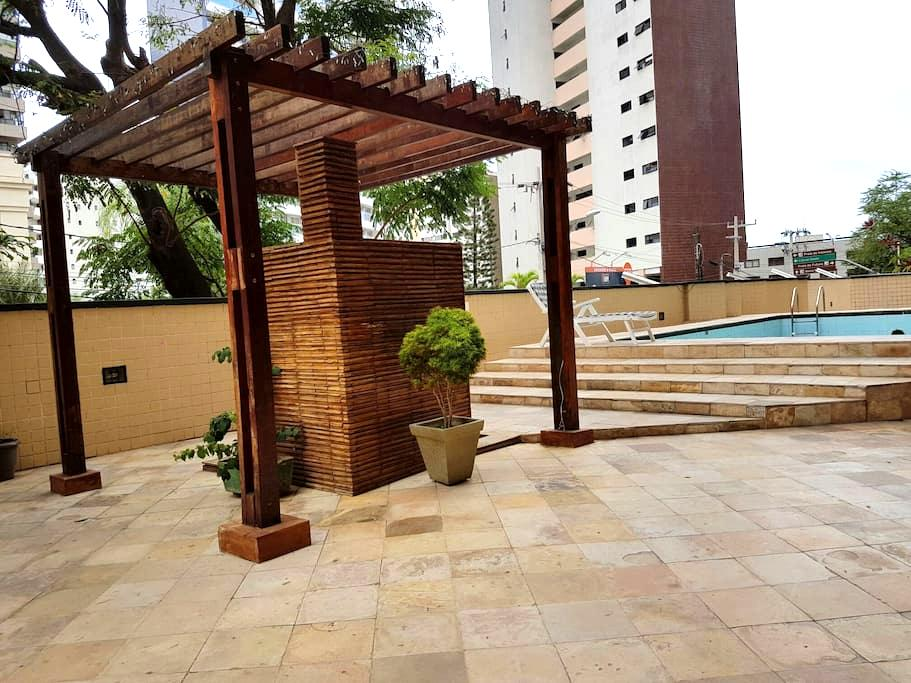 Flat na orla de Fortaleza - Форталеза