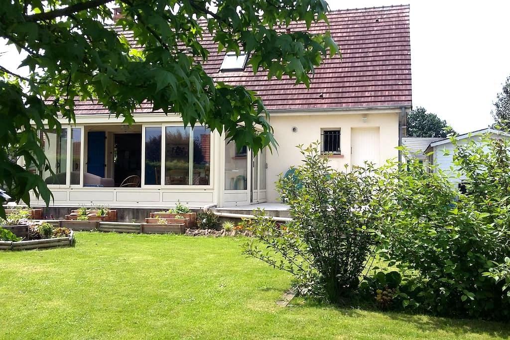 Ville & jardin 1 Chambre double petit-déj. - Gournay-en-Bray - Casa