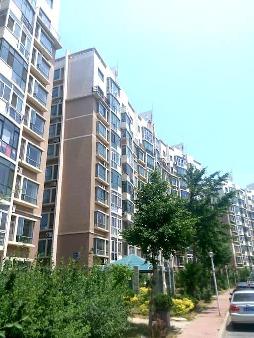 五明户型南北通透,有电梯。两卧室朝南,阳光充沛,93平(整套出租)。 - Dalian - Apartmen