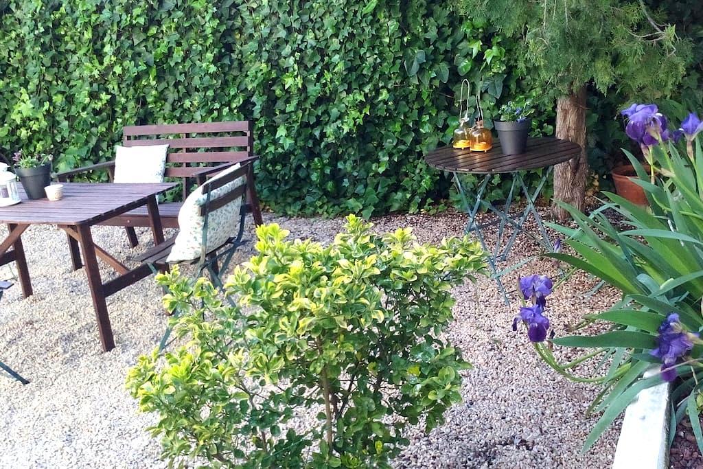 Casa&jardín cerca Delta Ebro - La Galera - Ev