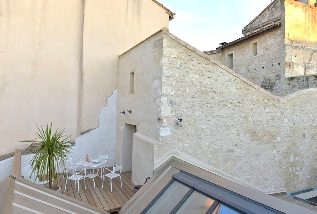 La Chambre Close et sa terrasse - Arles - Apartamento