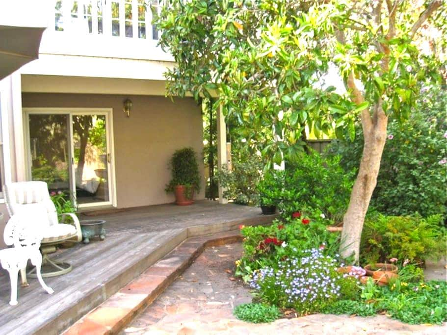 Private entrance/walk to Stanford - Menlo Park - Appartement