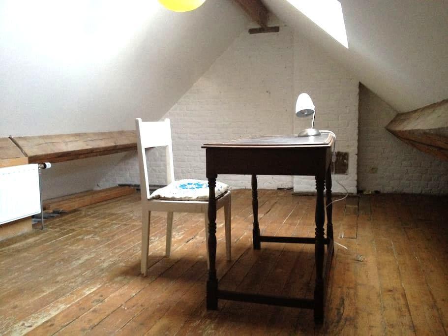 Grande chambre lumineuse XL-Flagey - Ixelles - Wohnung