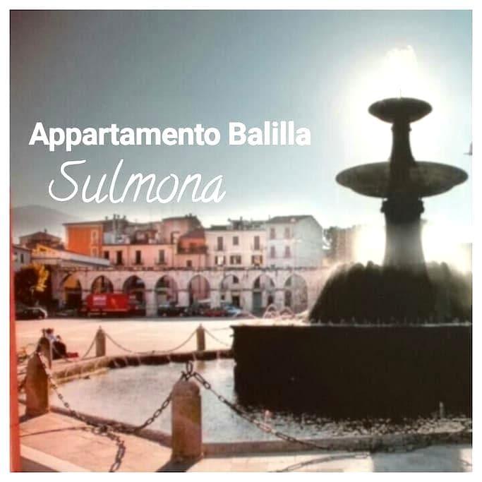 Appartamento Balilla - Sulmona - Квартира