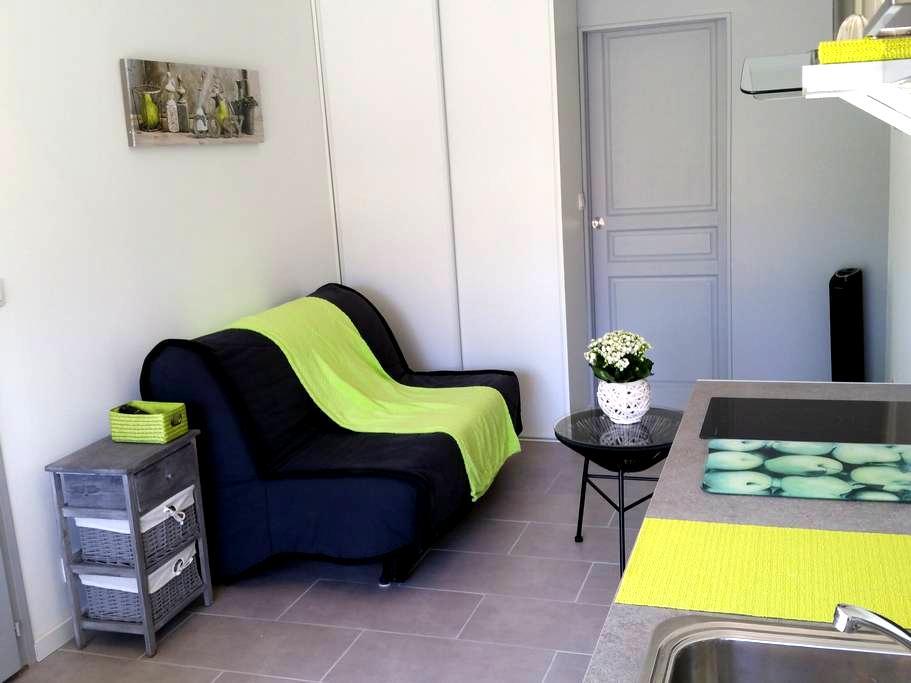 cosy studio** pour vacances sympas à Tosse - Tosse