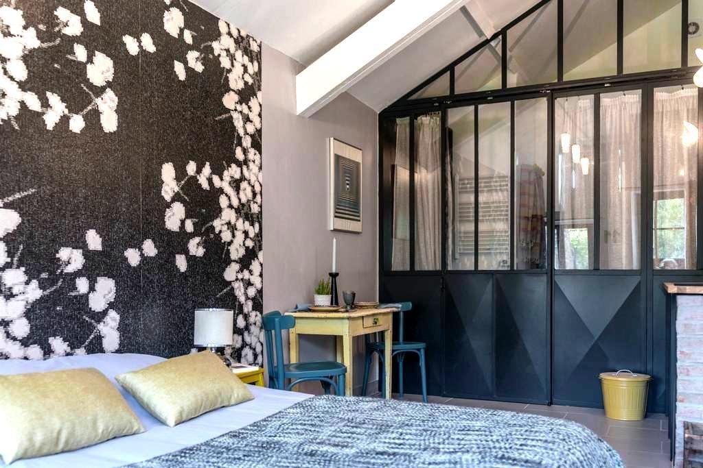 studio au rez de chaussée d'une maison du 18ème - Beaumont-du-Gâtinais