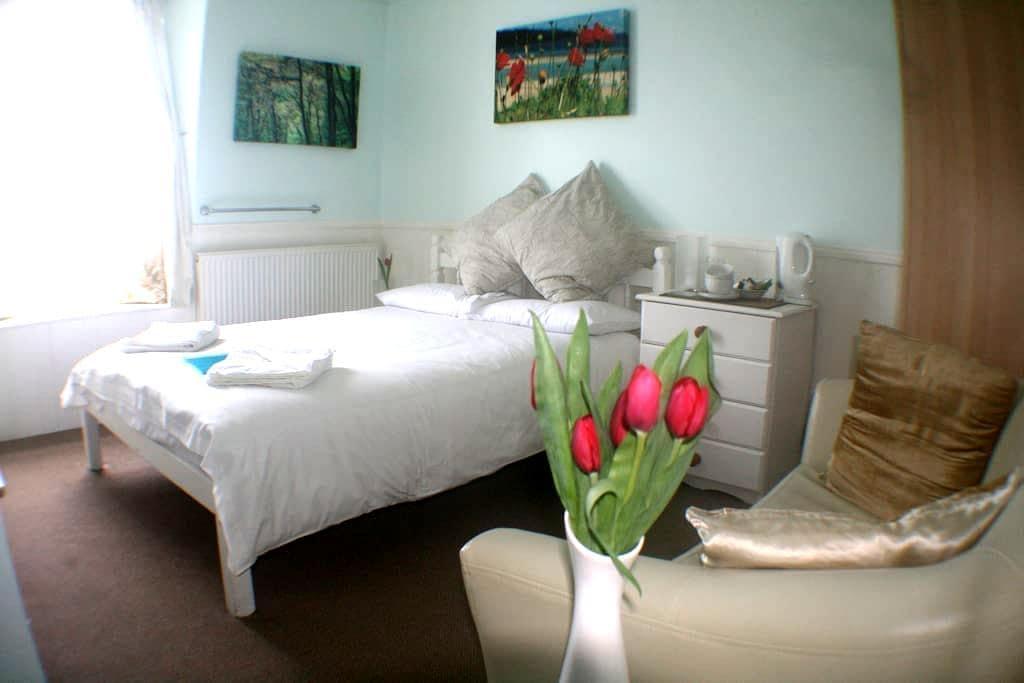 Great Willowherb Double Room at Coast B&B - Carbis Bay - Wikt i opierunek