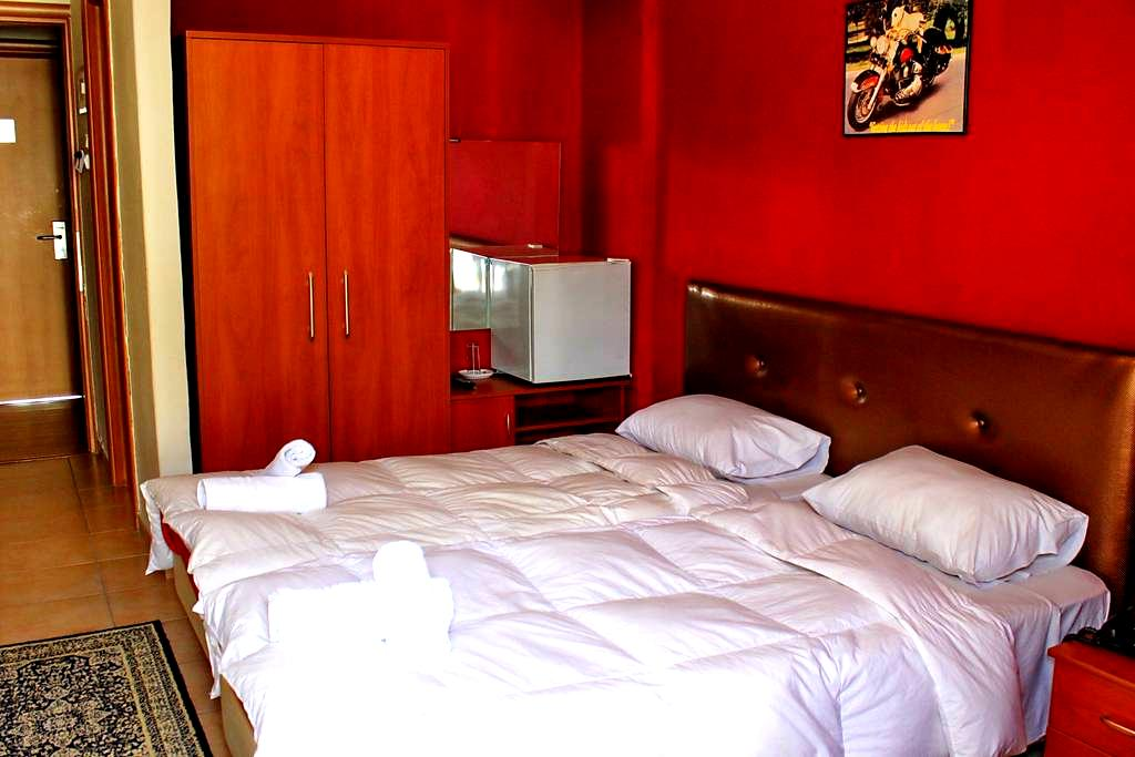 Twin Bed Room in central hotel - Kalampaka - Pension