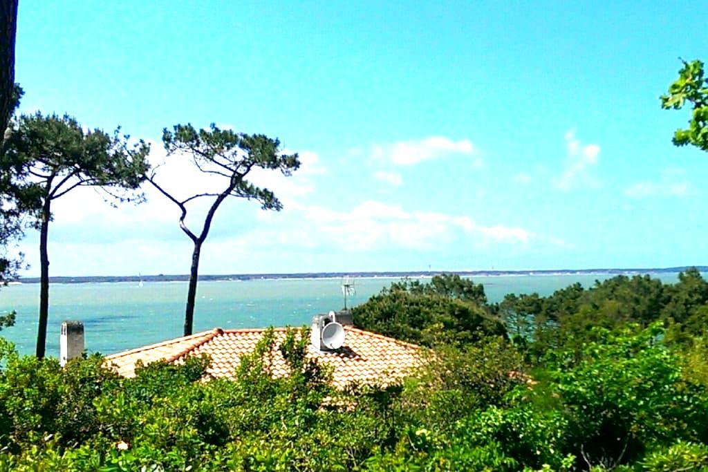 Villa mit Meerblick Pyla sur Mer nahe La Corniche - Pyla sur Mer - Villa