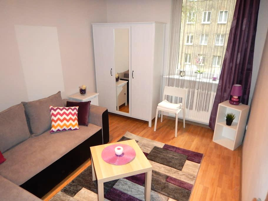 Przytulny pokój na Wałach Chrobrego (City Center) - Szczecin - Apartment