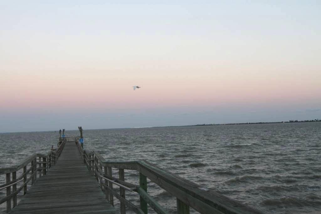 """Porchspective"" on Copano Bay - Bayside"