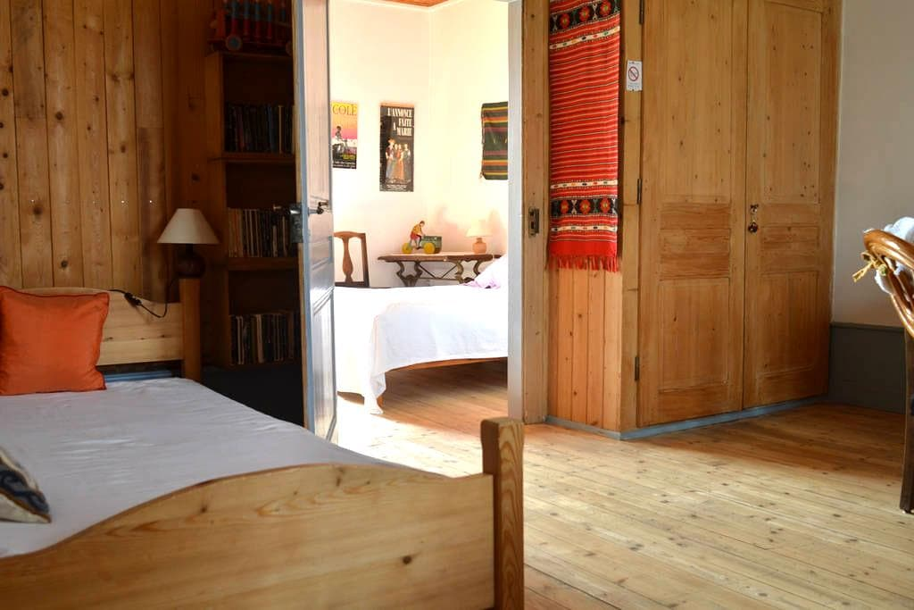 Room in an old house of XVIII - Vaux-et-Chantegrue