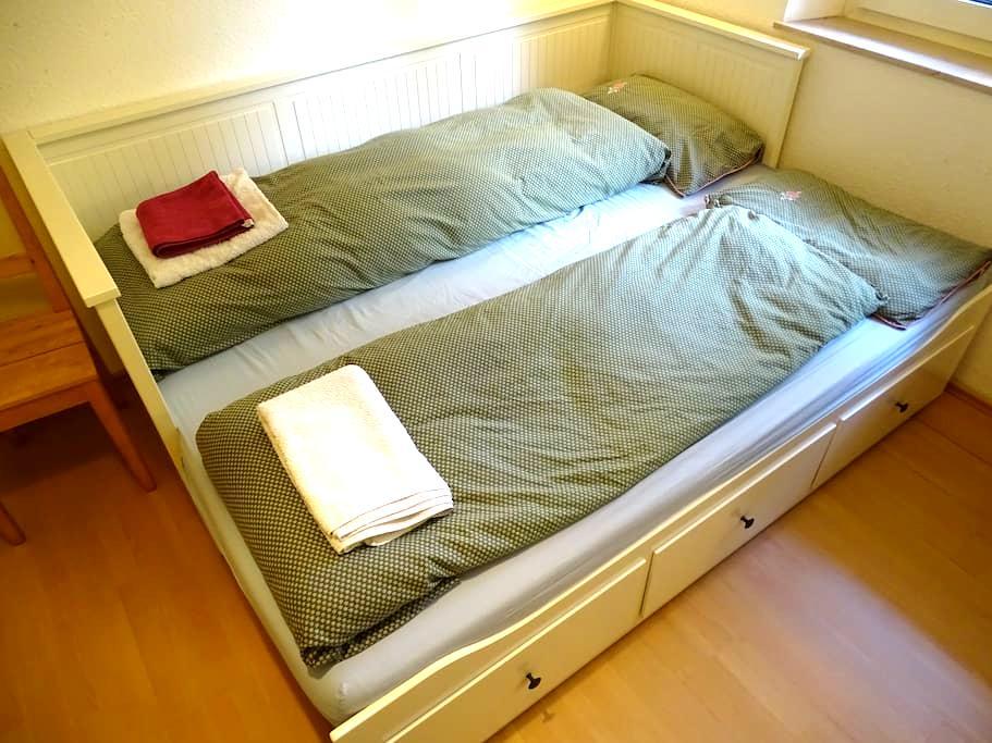 Cosy, family-friendly room in Nuremberg - Nürnberg - Apartamento