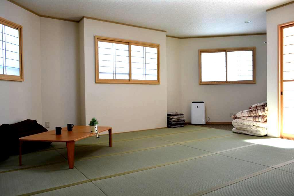 室内和風新築!富士急ハイランド駅から徒歩3分、観光・遊びに最適! - Fujiyoshida-shi - Hus