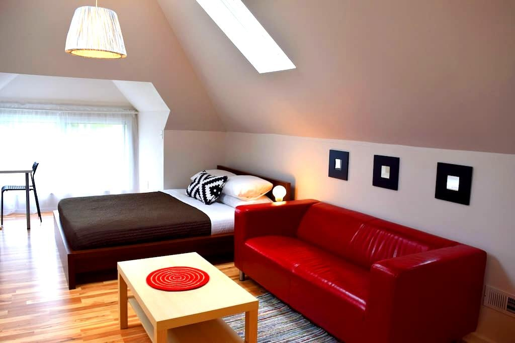 Modern loft in safe neighborhood - Hamtramck - Wohnung