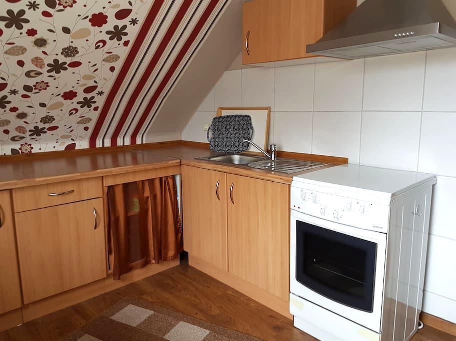 Zum Dachsbau - Drei Zimmer an der Ostsee - Schwartbuck