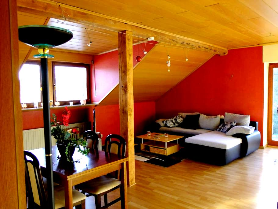Sehr schön gelegene ruhige Wohnung in Bedburg Hau - Bedburg-Hau - Apartmen