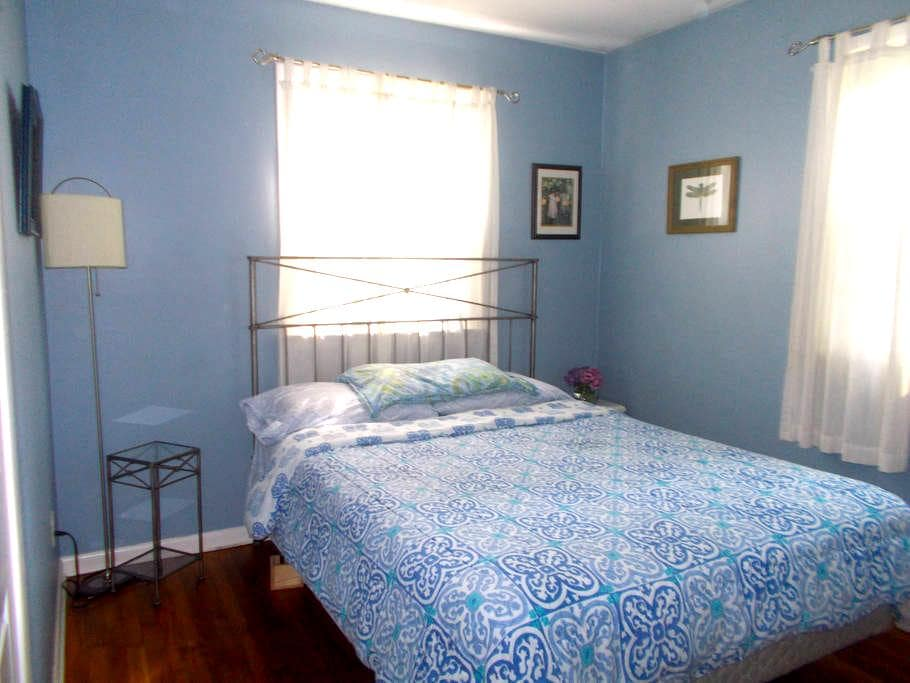 Green Rooms Minutes from Beaches - Linwood - Casa