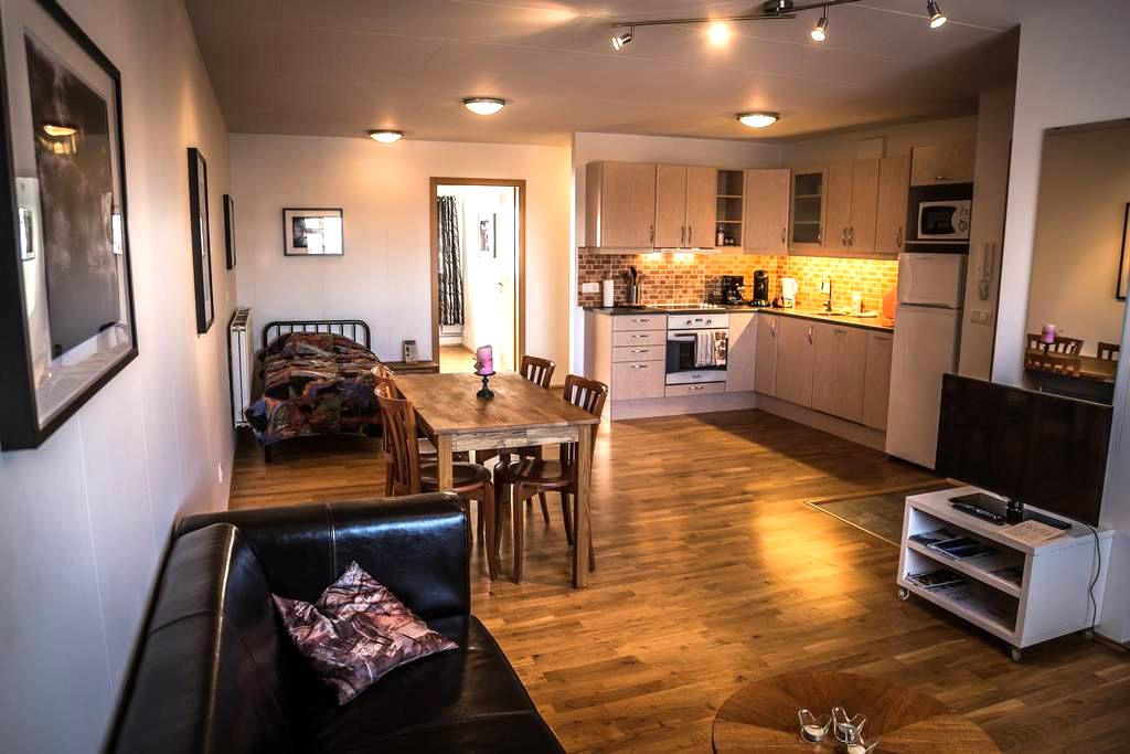 Family 1BD apartment, 45 min from Reykjavik - Eyrarbakki