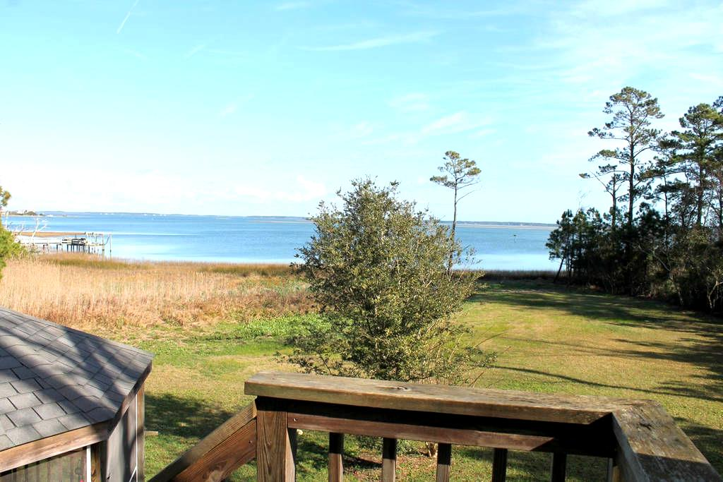 Private Waterfront Apartment - Beaufort