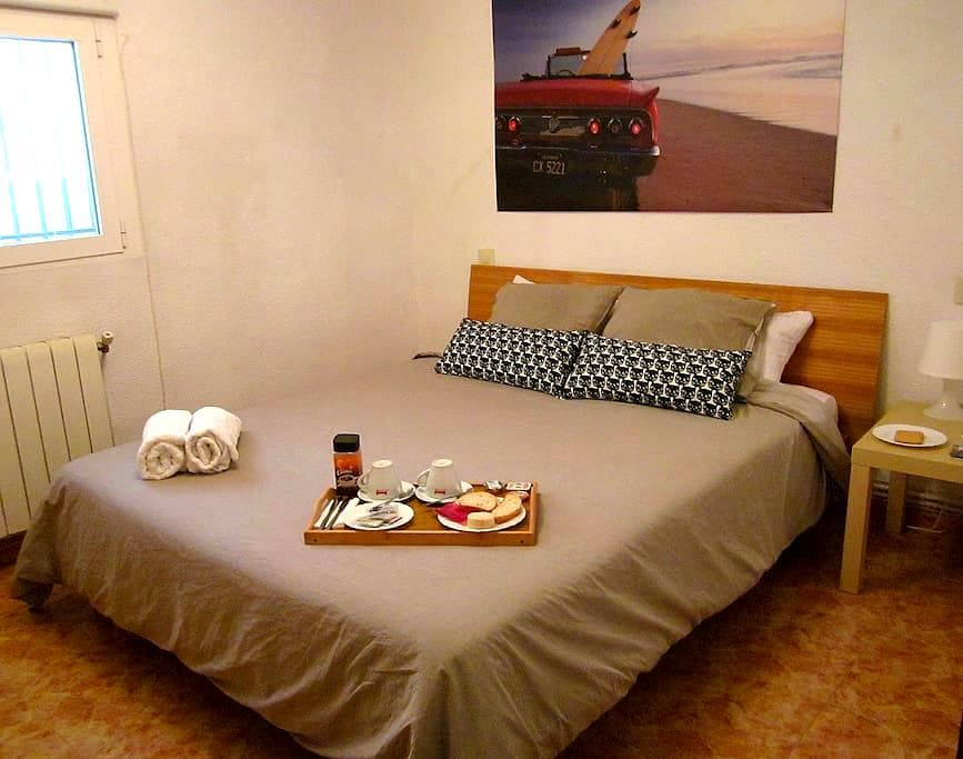 Great Room Airport (Metro 7/8 min. walk) - Madryd - Apartament