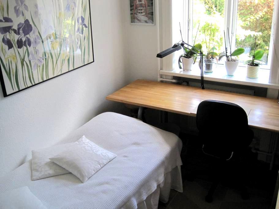 Nice room - good area - close to Metro - garden. - Copenhague - Apartamento