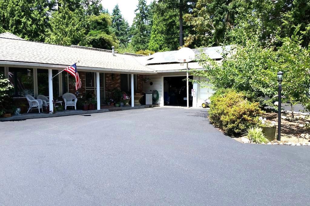 1.One bedroom, one bath in Kirkland Washington - เคิร์กแลนด์ - บ้าน