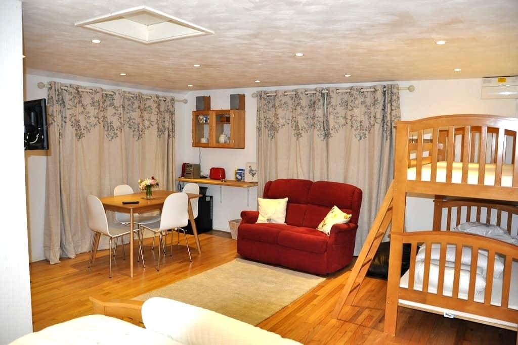 Studio convenient for Stansted Airport - sleeps 4. - Brick End - Apartment