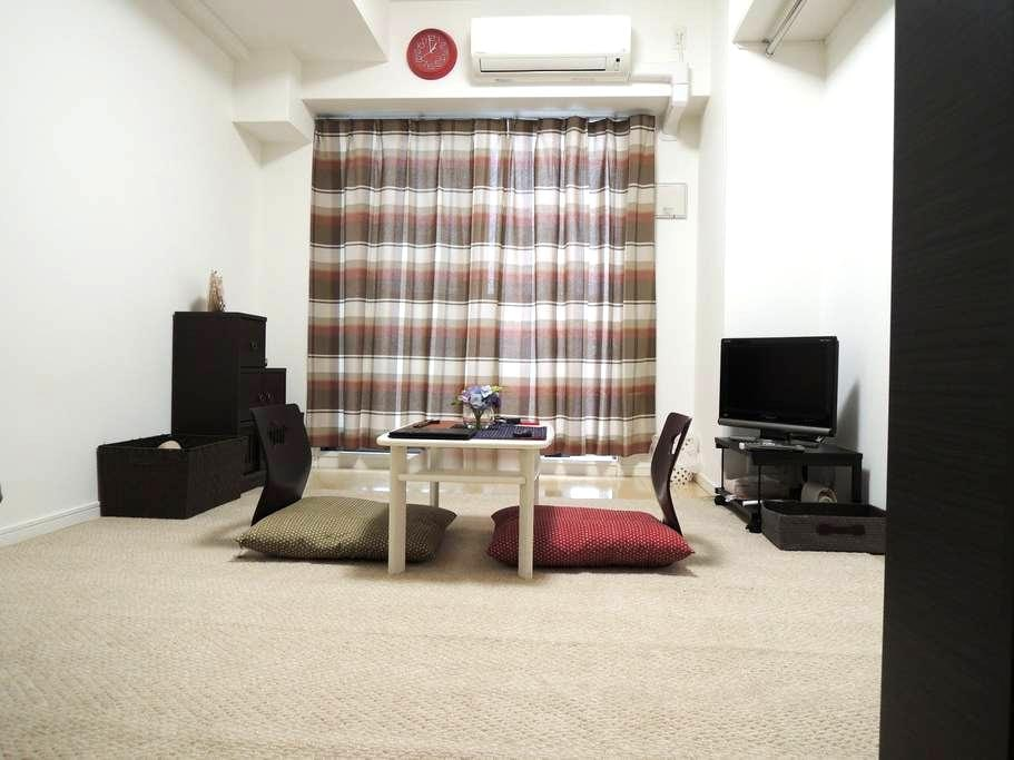 ★BEST LOCATION NEAR JR OSAKA ★CBD★SHOPPING★WIFI★ - Kita Ward, Osaka - Apartment