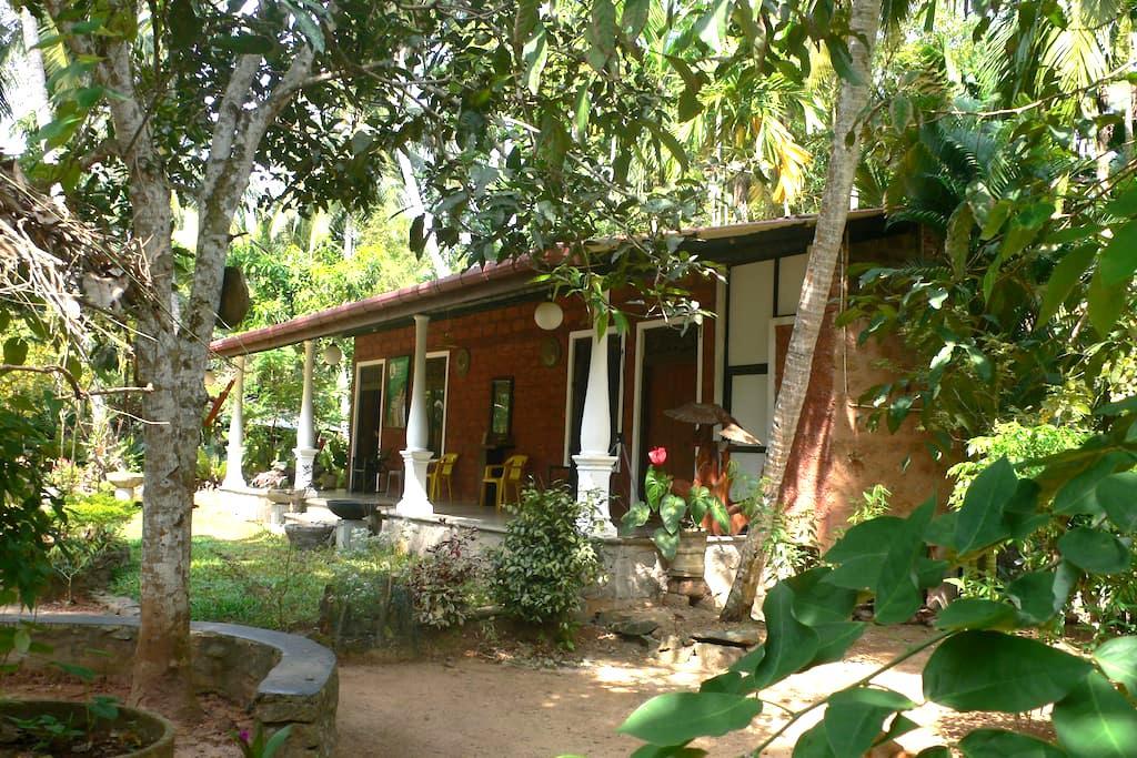 Serene Sri Organic Garden Get-Away - Wadduwa - Earth House
