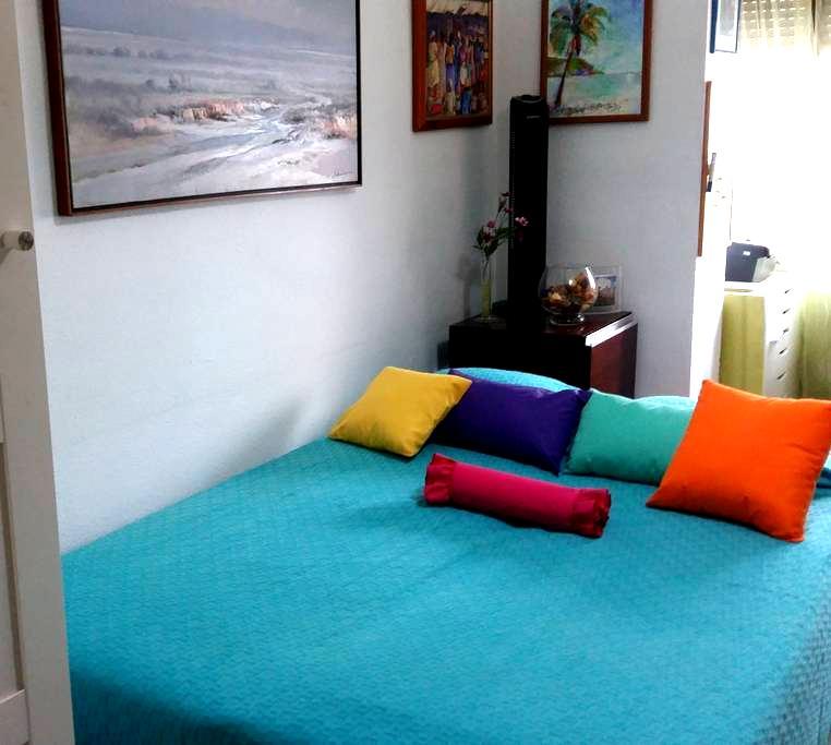 Habitación privada con comodo sofacama matrimonial - Jerez - Apartment