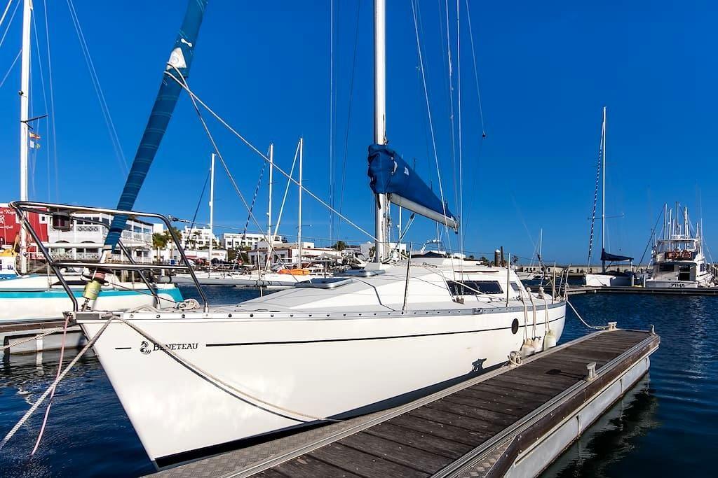 Voilier à  Lanzarote - Playa Blanca - Boat