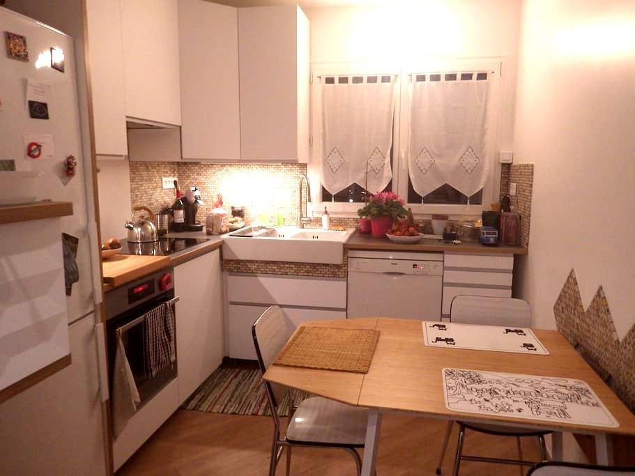 1 chambre pour 2 personnes - Maurepas - Apartemen