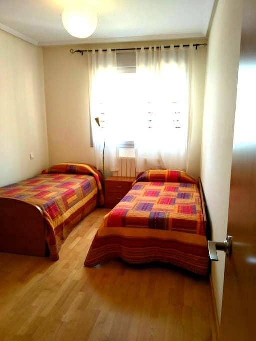 Habitación en Logroño, cerca Camino de Santiago - Logroño - Daire