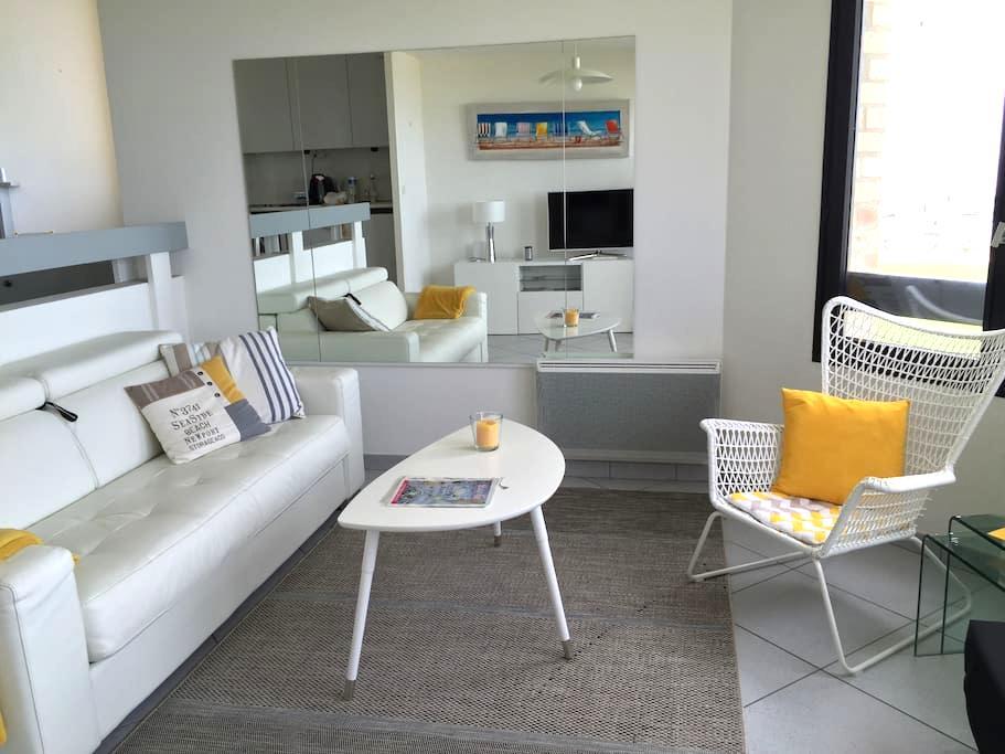 BEAU STUDIO VUE SUR MER DEAUVILLE - OCEAN VIEW - Deauville - Apartment