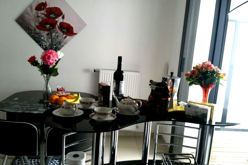 Pleasant flat close Geneva palexpo - Saint-Julien-en-Genevois - Apartamento