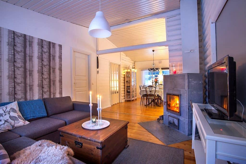 Dream woodhouse with Sauna ! - Tornio
