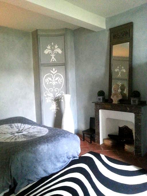 Deux chambres dans belle demeure - Saint-Paul-Cap-de-Joux - Dům