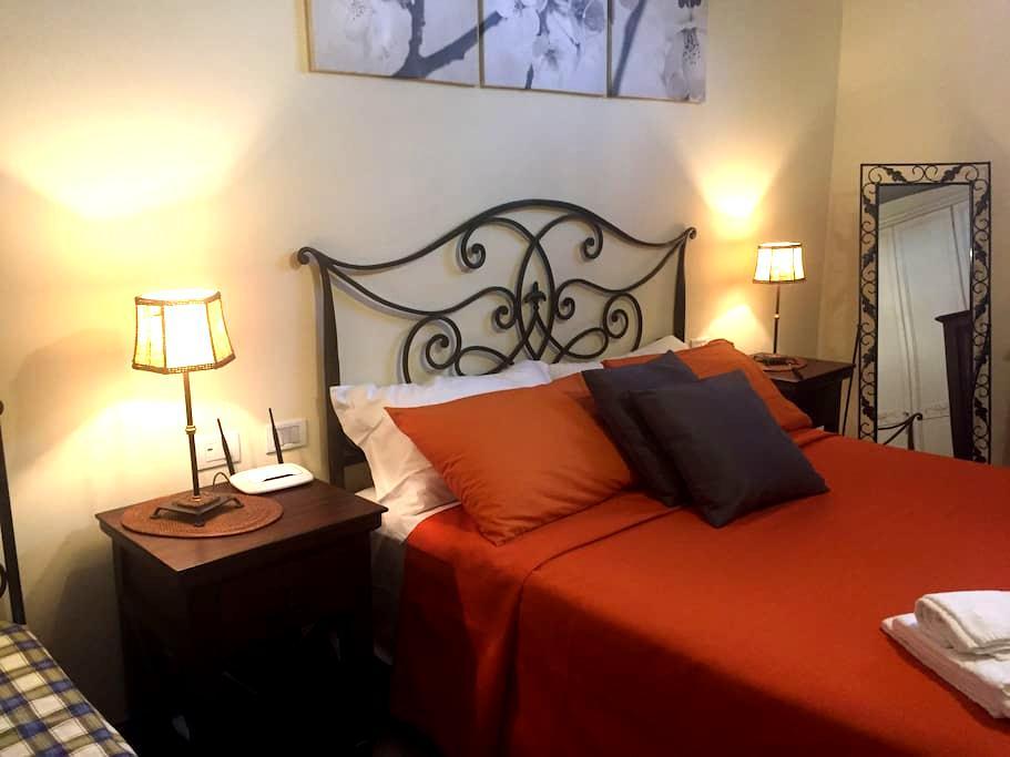 Camera matrimoniale Bagnoregio - Castel Cellesi - Bed & Breakfast