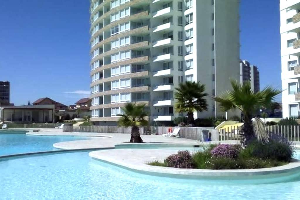 Departamento primera linea playa - Coquimbo - Appartement