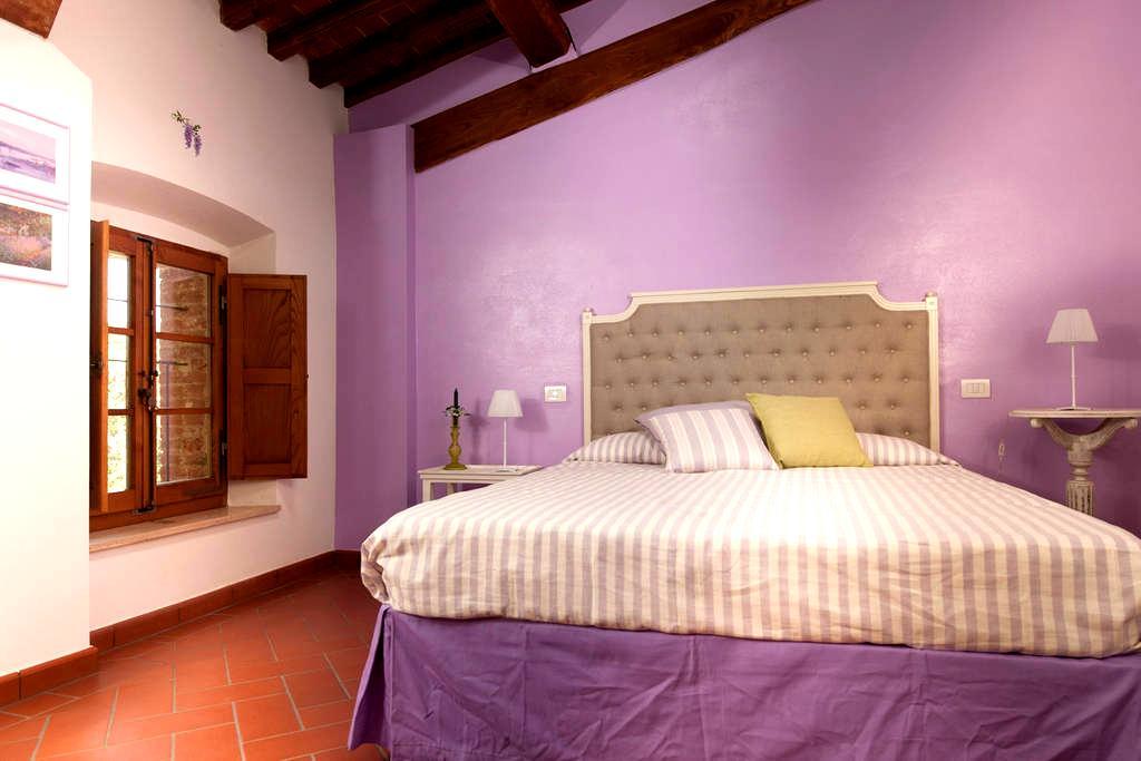 Antico Granaione BB Wisteria Room - Serre di Rapolano - Bed & Breakfast