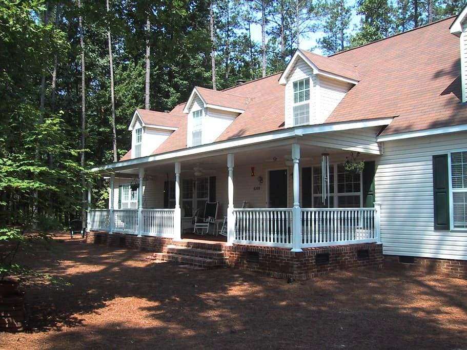 Private space full upstairs of home - Raleigh