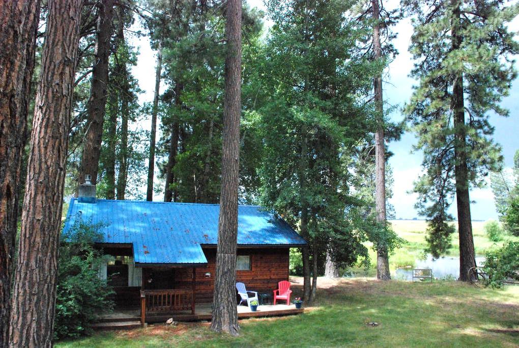 CraterLakeB- Cabin on Crooked Creek - Chiloquin - Srub