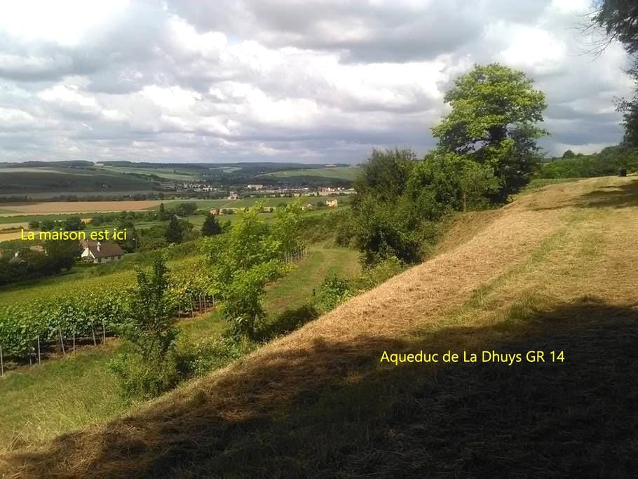 Belle maison au calme entre vignes et forêt - Pavant - Casa