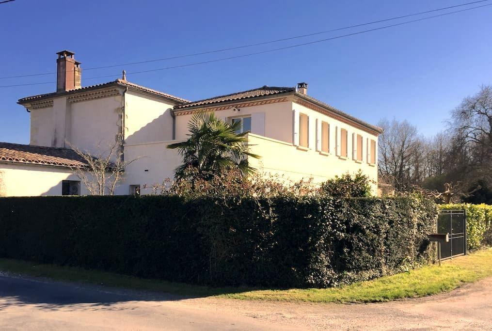 Ferienhaus im Medoc - Vendays-Montalivet - Hus