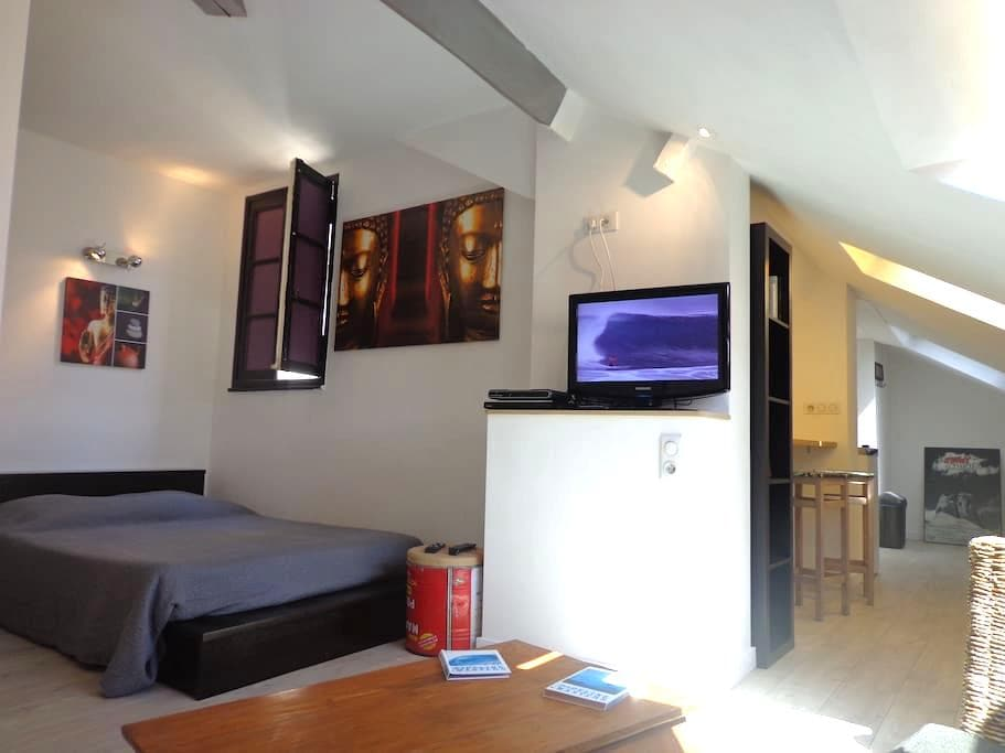 Beau studio à 50 m de la plage  - Biarritz - Appartement