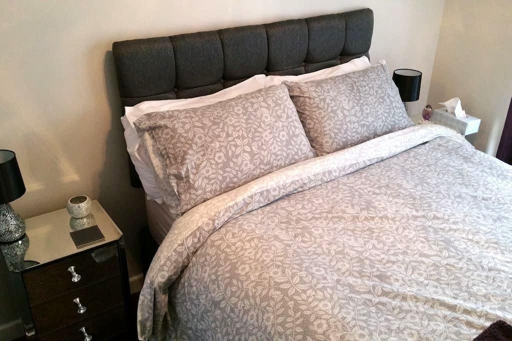 Chic double room in quiet village - North Baddesley - Huoneisto