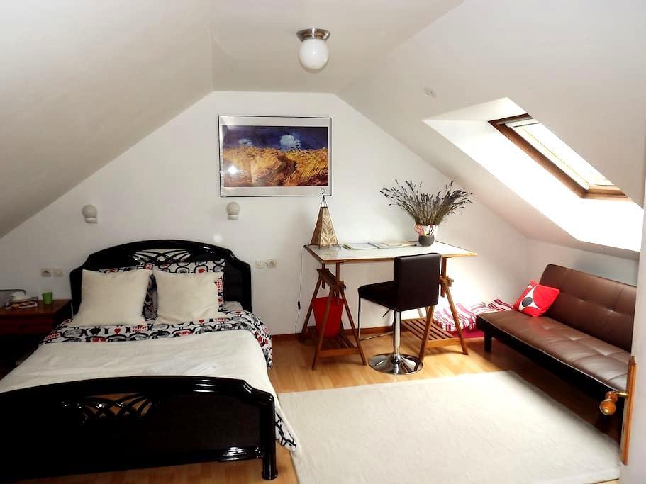 Chambre spacieuse dans maison écologique - Saran - 独立屋