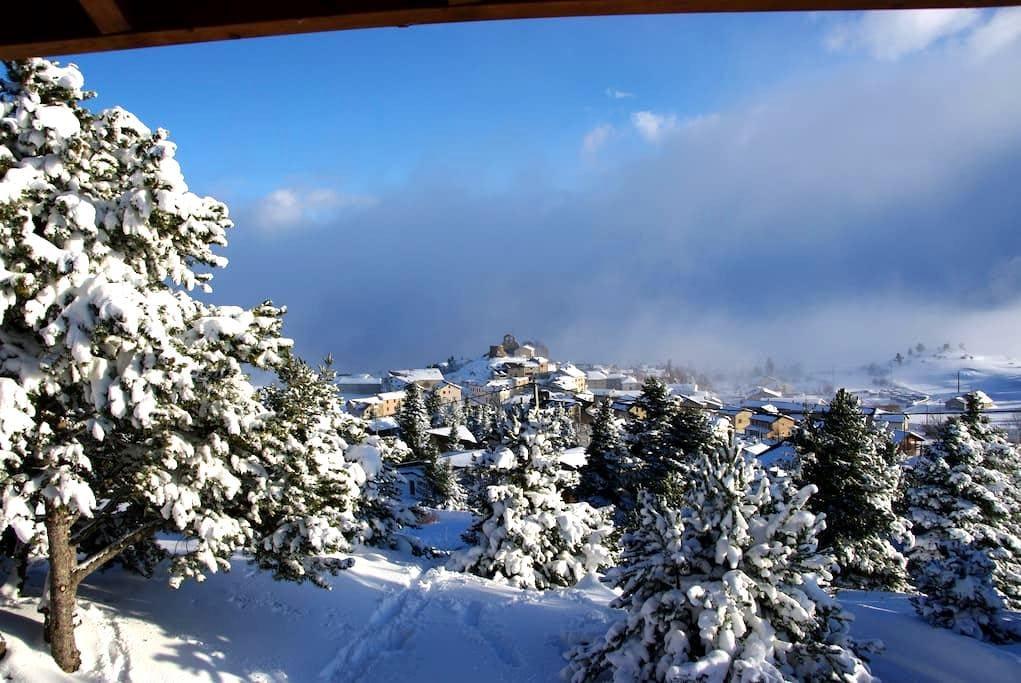 Chalet 1700 M.  Sun & Mountain - La Llagonne