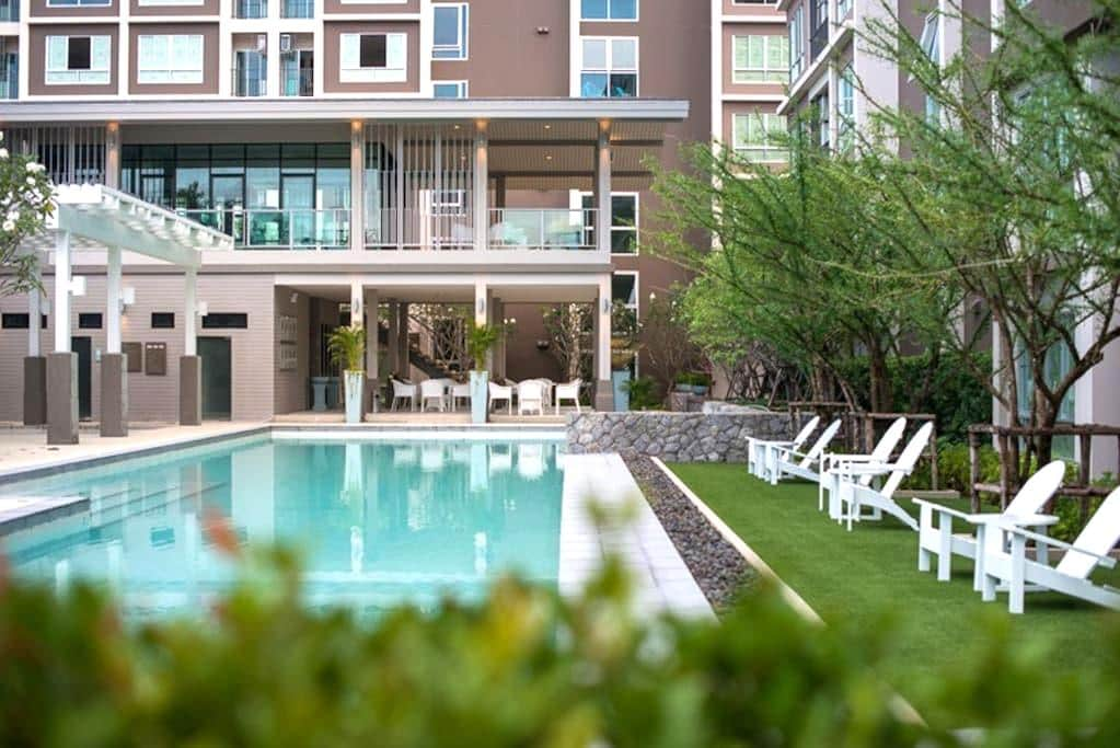 PB5545 Hua Hin Beach Condo Night Market Hua Hin - Hua Hin - Appartement